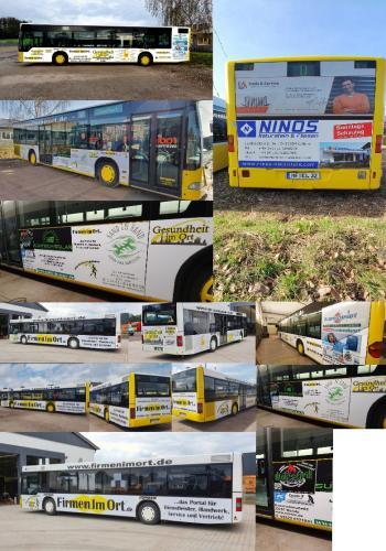 Busse unterwegs